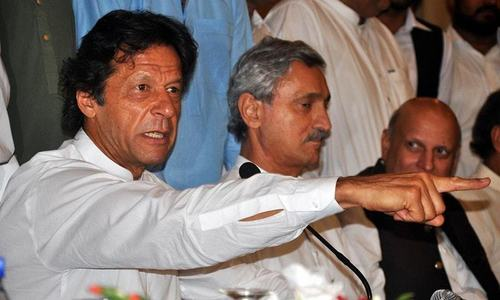 Imran Khan threatens to sack party members who spill beans to media