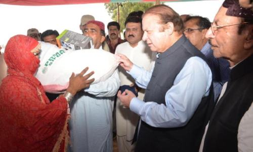 PM announces Rs1bn grant for flood relief in Sindh