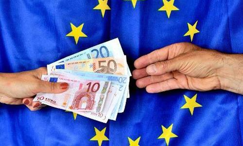 S&P downgrades outlook for EU