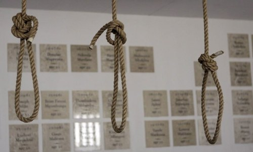 Four hanged in Gujranwala, Mianwali jails