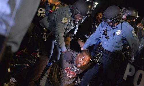 Half of blacks in US say police have treated them unfairly