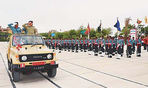 'Karachi operation apolitical, indiscriminate'
