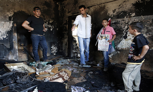 Father of toddler burnt to death by Israeli settlers dies