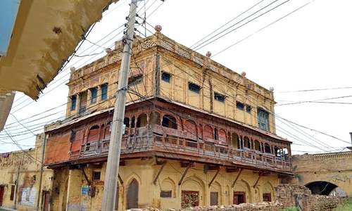 Chakwal's oldest village losing its historic sites