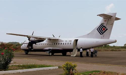 Plane with 54 on board crashes in remote Indonesian region