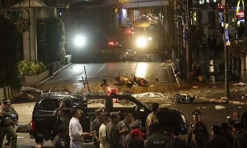 Bomb explodes at Bangkok shrine, killing at least 18