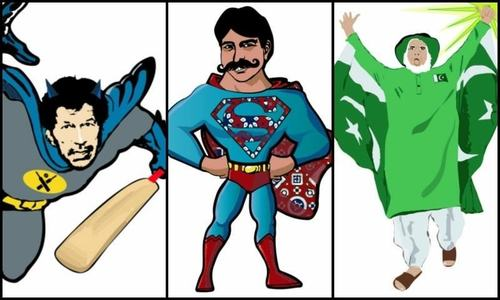 What if your favourite superheroes were Pakistani? Find out here