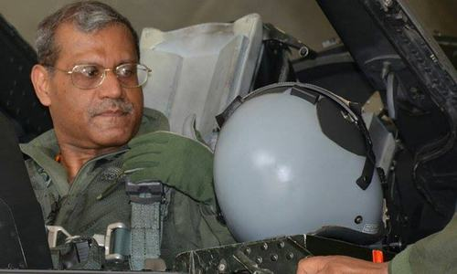 Zarb-i-Azb: Air chief leads combat formation to strike militant hideouts
