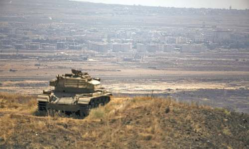 Israeli air strikes kill  6 in Syria