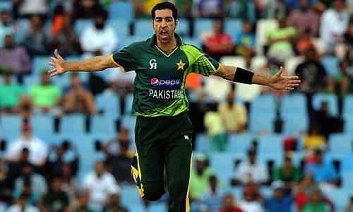 Umar Gul puts in the hard yards in comeback bid