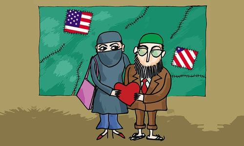'The US is making Pakistani wives divorce their husbands'