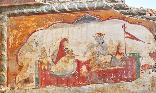Etched on walls: The unknown glory of an old Punjab town