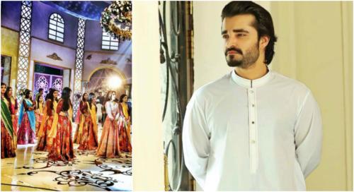 Awkward: Hamza Ali Abbasi makes his dance debut with 'Jalwa'