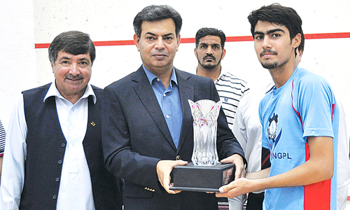 Boost for Pakistan squash as Israr wins Asian Junior Championship