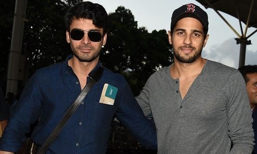 Fast friends: Siddharth Malhotra has an 'Urdu nickname' for Fawad Khan