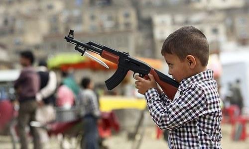 Fake guns, real terrorism