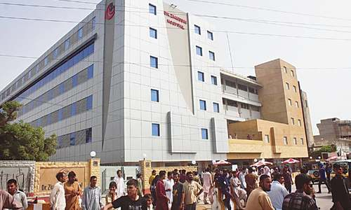Top official held in Rangers raid on Dr Ziauddin Hospital