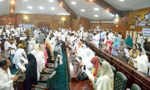 Councillors take oath across KP