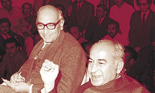 Smokers' Corner: Bhutto's ideologue: friend, mentor, enemy