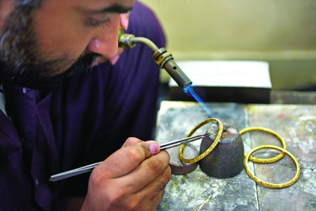 Jewellery making: an art as old as mankind