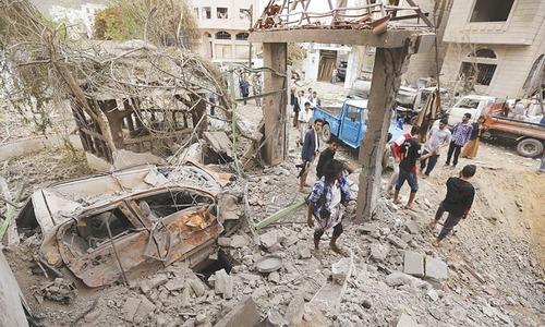 Air strike leaves 36 civilians dead in Yemen