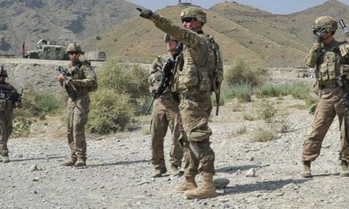 Restoring peace in Afghanistan a shared responsibility: military