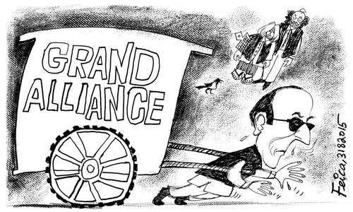 کارٹون : 31 اگست 2015