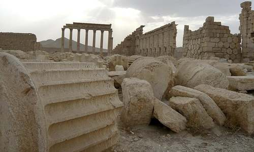 "UN Satellite images show Temple of Bel in Syria ""destroyed"""
