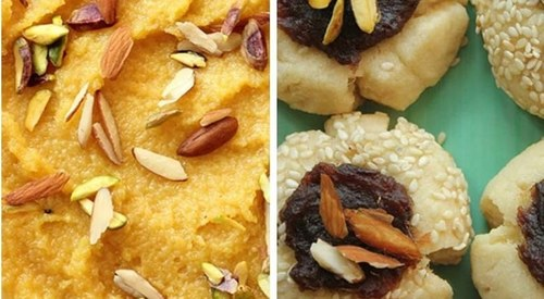 Looking to change up the Eid menu? Try Mango Halwa and Date Cookies!