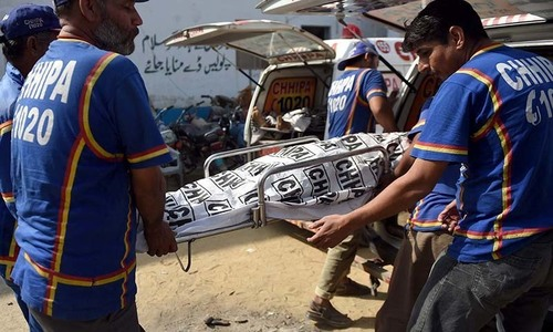 Bodies of minor girl, boy recovered from Karachi school