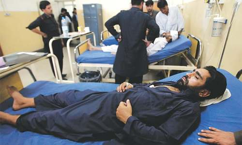 Four killed, 56 injured in Jamrud suicide attack