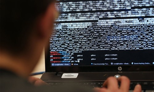 UK crime agency website downed by hackers
