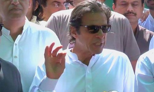 Imran lauds CEC's efforts for electoral reforms, seeks army security for by-polls