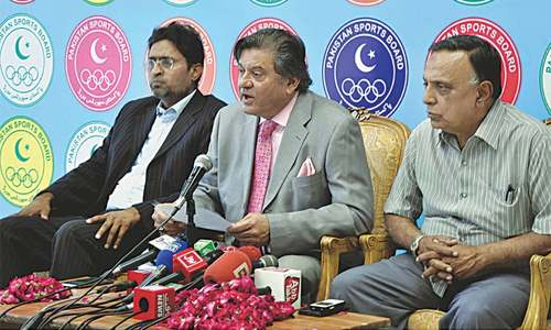 Shahbaz named PHF secretary as Rana resigns