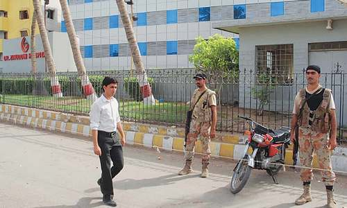 Rangers seize record from Dr Asim's hospital in three-hour-long stay