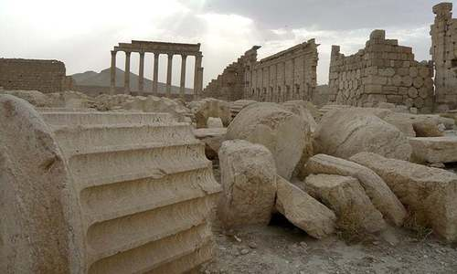 How IS profits from destruction of antiquities