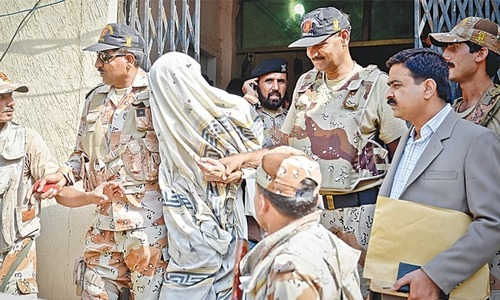 Rangers operation and the chimera of terror financing