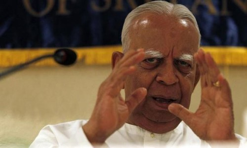 First Tamil in 32 years to lead opposition in Sri Lanka