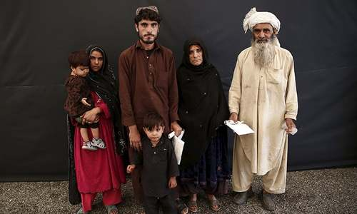 Afghan refugee returns reluctantly from Pakistan