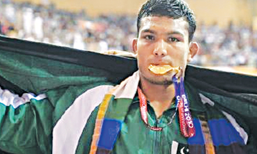 Wrestler Inam to take on world's best in Las Vegas championship