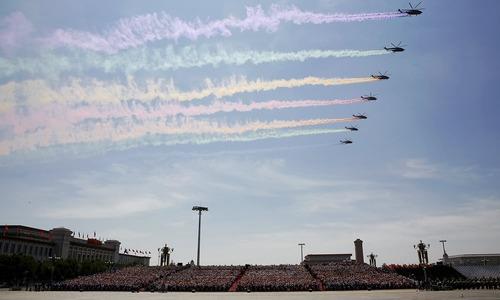 China celebrates 70th World War II anniversary