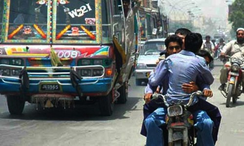Sindh govt imposes two-day ban on pillion riding in Karachi