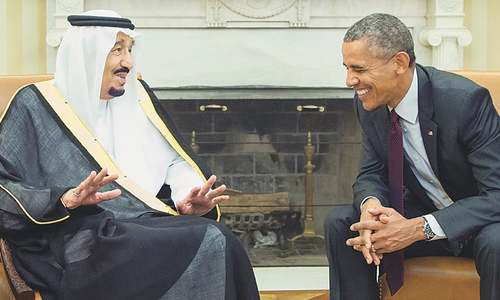 Obama, Salman pledge to strengthen ties