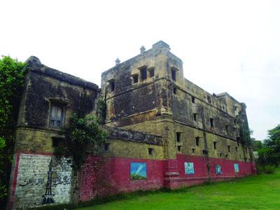 The Sikh palace of Kallar Syedan