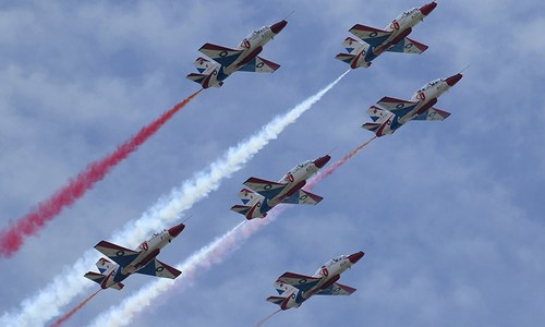 Flyboys dominate Defence Day