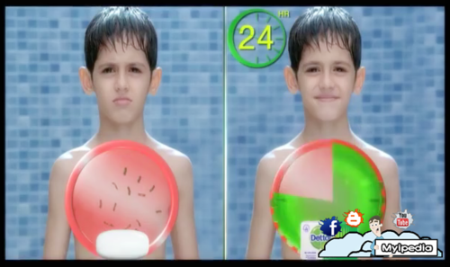 Agree, very funny bath soap commercial think