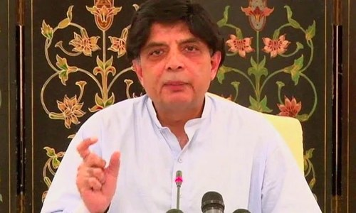 State will take action against those calling others infidels: Nisar