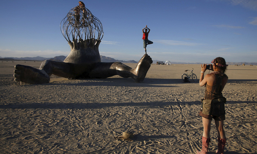 The Burning man 2015 'Carnival of mirrors' arts and music festival