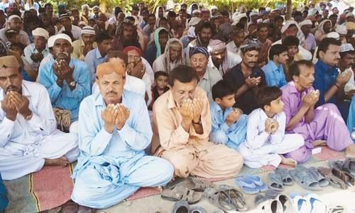 Urs celebrations at Luari Sharif held peacefully amid row over custodianship