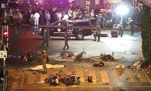 Bangkok blast: Pakistani among three detained by Malaysia